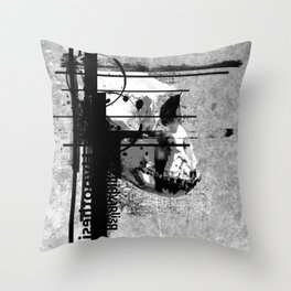Evolution of Cognition Throw Pillow