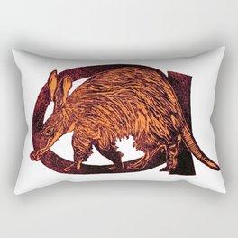A is for Aardvark Rectangular Pillow