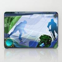 hockey iPad Cases featuring Hockey by Robin Curtiss