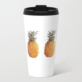 Low Poly Pineapple Travel Mug