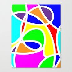 Loops Color Canvas Print