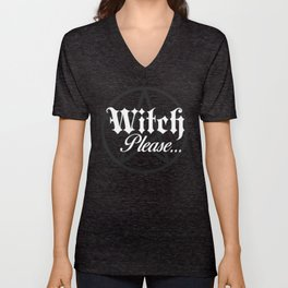 Witch Please Unisex V-Neck