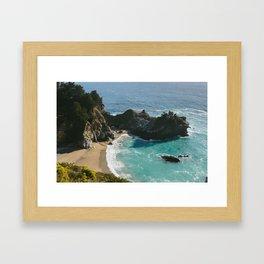 McWay Falls • Big Sur, CA Framed Art Print