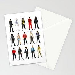 King MJ Pop Music Fashion LV Stationery Cards