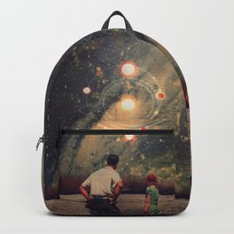 Light Explosions In Our Sky Backpack