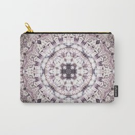 MAUVE MANDALA Carry-All Pouch