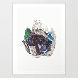 Crystalize II Art Print