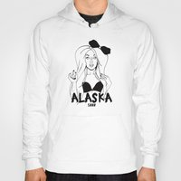 rupaul Hoodies featuring Alaska by Payden Evans