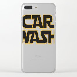 Star Wars Car Wash T-Shirt Clear iPhone Case