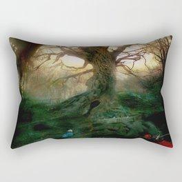 I Sleep In Stone Two. Rectangular Pillow