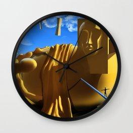 Sculptor Wall Clock