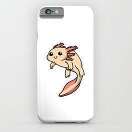Cute Axolotl Costume Amphibian Gift Idea iPhone Case