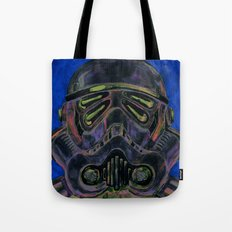 dark stormtrooper with 4 eyes Tote Bag
