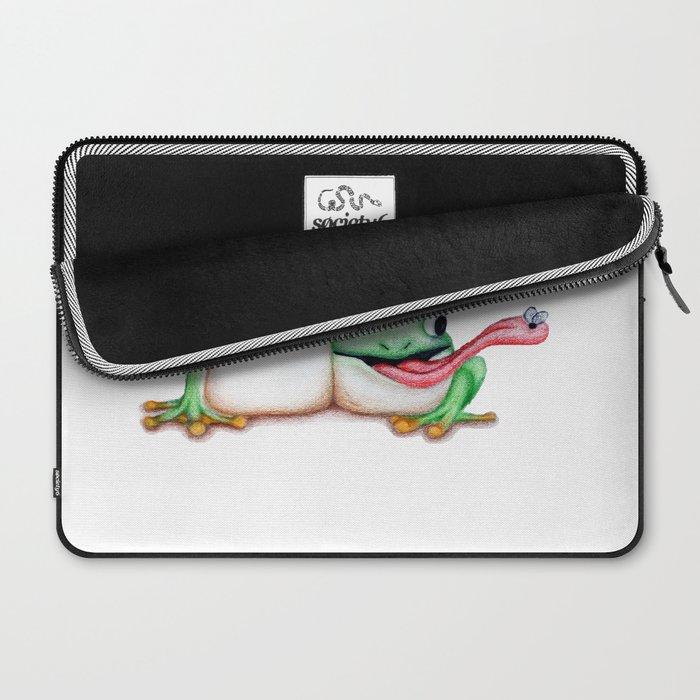 Cartoon Frogs  Laptop Sleeve