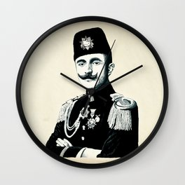 The Officer Kitty Wall Clock
