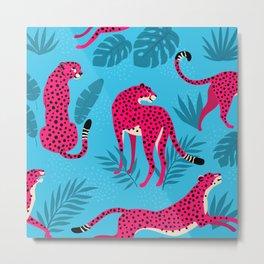 Leo the Leopard #3 Metal Print