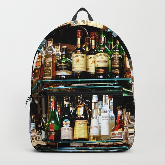 BOTTLES ALL IN A ROW Backpack