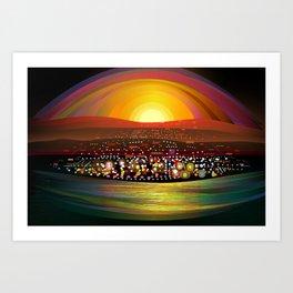 La Paz Art Print