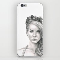 the national iPhone & iPod Skins featuring National Anthem by petitehoneybee