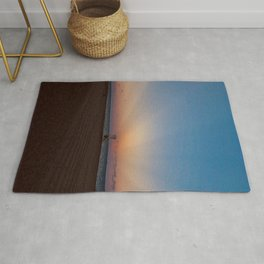 Ray Of Light Sunbeams Rug