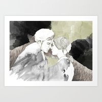 jane eyre Art Prints featuring Jane Eyre Editorial #1 by Autumn Rose Northcraft