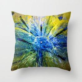 magic colors of water Throw Pillow