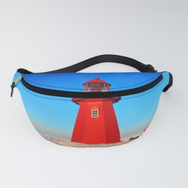 Lighthouse  and Frozen Sea Fanny Pack