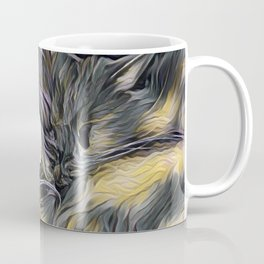 """Cat Love"" Coffee Mug"