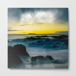 The Infinite Spirit Tranquil Island Of Twilight Maui Hawaii Metal Print