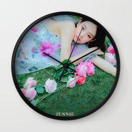 SOLO - Jennie - BLACKPINK Wall Clock