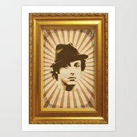 rocky Art Prints featuring Rocky by Durro