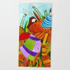 Alice in Wonderland #5 Beach Towel