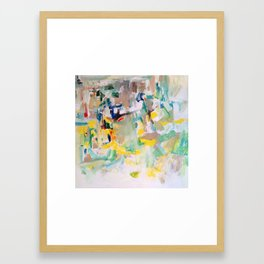 Fractured Framed Art Print