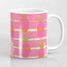 Pink Pineapples Coffee Mug