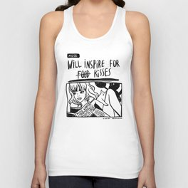 Will Inspire For Kisses Unisex Tank Top
