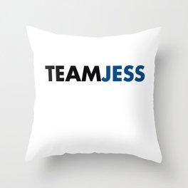 Team Jess Gilmore Girls Throw Pillow