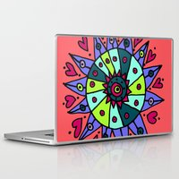 cara Laptop & iPad Skins featuring Cara by Ellie And Ada
