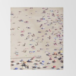 Beach Love VI Throw Blanket