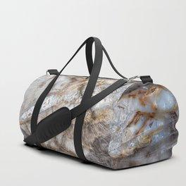 Petrified wood 3266 Duffle Bag