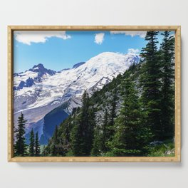 Mount Rainier Serving Tray