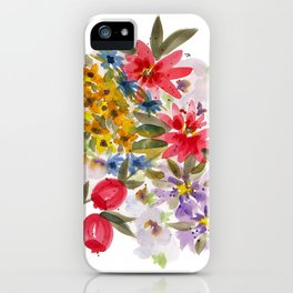 Farmers Market Bouquet 1 iPhone Case