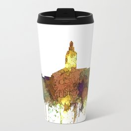 Annapolis, Maryland Skyline - SG - Safari Buff Travel Mug