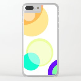 Colors in the sky are blinding Clear iPhone Case