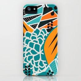 Leaf tropicana iPhone Case