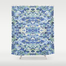 Coastal Mandala Shower Curtain