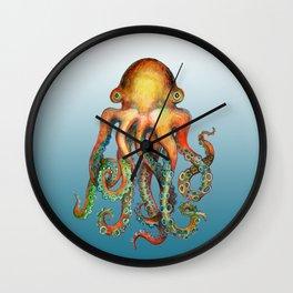 Friendly Little Octopus Wall Clock