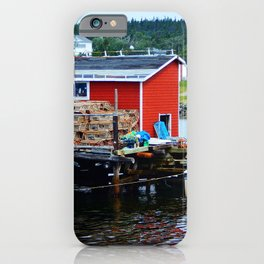 Fisherman's Shack iPhone Case