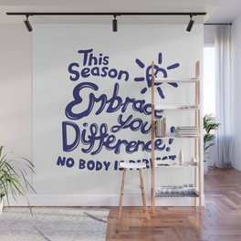 Embrace Difference Wall Mural