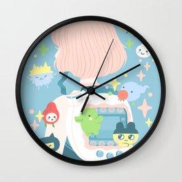 tamagotchi fever Wall Clock