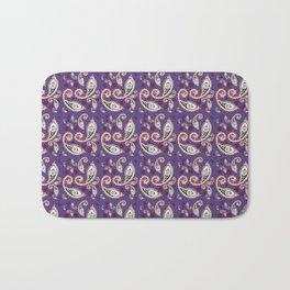 Oriental Ornament Purple . Bath Mat